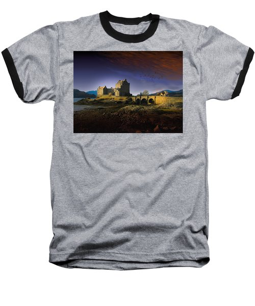 On The Way Home Baseball T-Shirt by J Griff Griffin