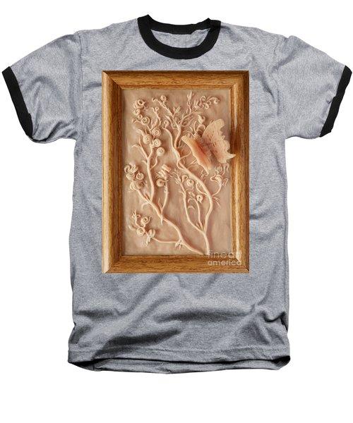 On The Way To Bronze - Alfalfa And Anglewing Baseball T-Shirt