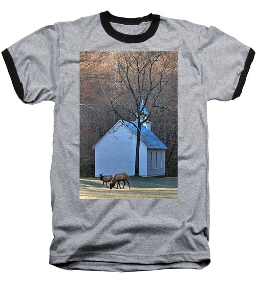 On The Way To Church Baseball T-Shirt