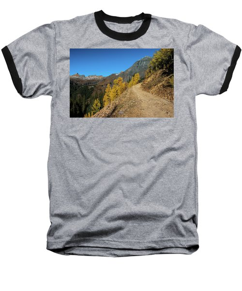On The Way To Clear Lake In Co - 0056 Baseball T-Shirt