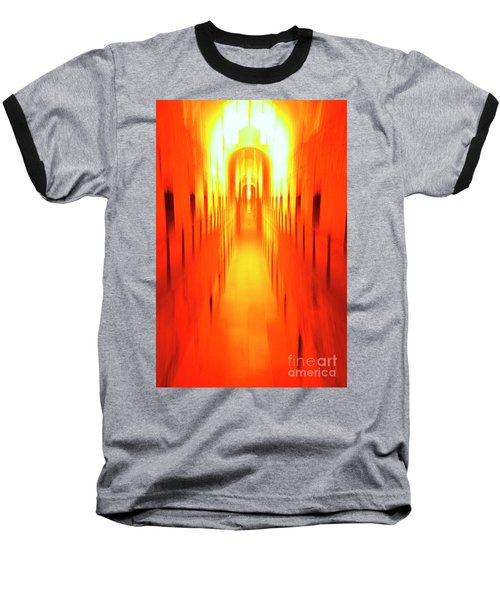 Baseball T-Shirt featuring the photograph On The Way To Death Row by Paul W Faust - Impressions of Light