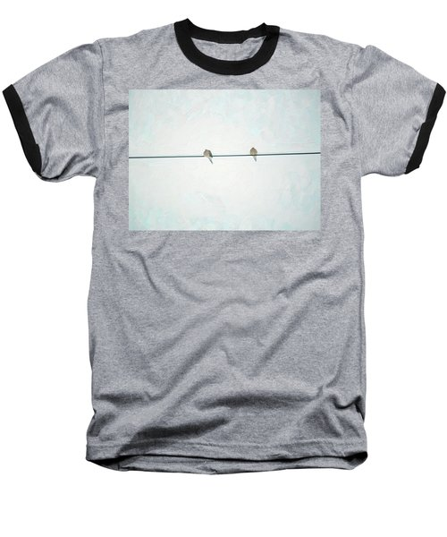 On The Wire Baseball T-Shirt