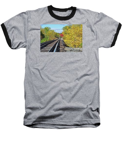 Baseball T-Shirt featuring the photograph On To Fall by Glenn Gordon