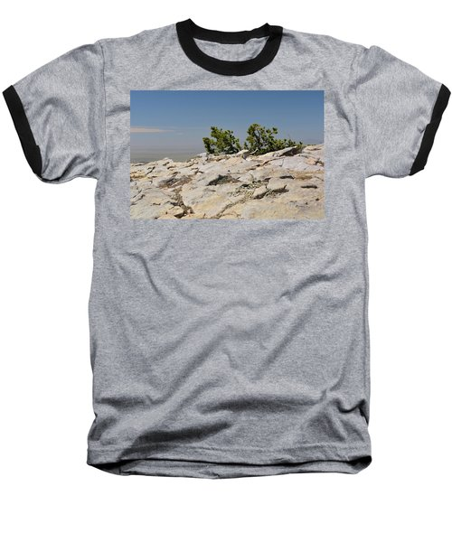On Top Of Sandia Mountain Baseball T-Shirt