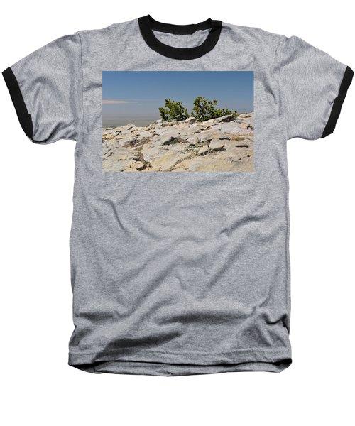 On Top Of Sandia Mountain Baseball T-Shirt