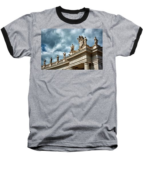 On Top Of The Tuscan Colonnades Baseball T-Shirt