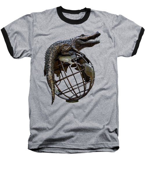 On Top Of The World Transparent For T Shirts Baseball T-Shirt