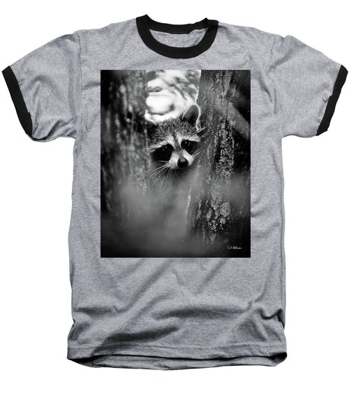 On Watch - Bw Baseball T-Shirt