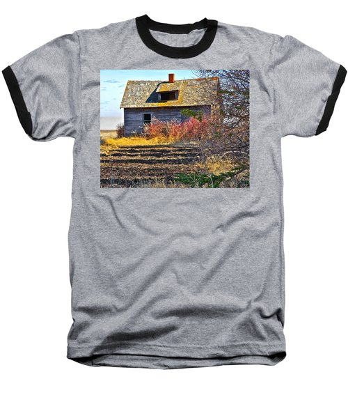 Baseball T-Shirt featuring the photograph Once A Lovely Home by Johanna Bruwer
