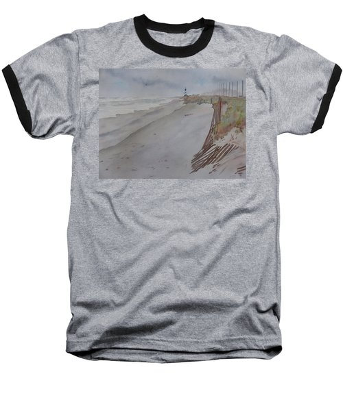Once There Was A Lighthouse Baseball T-Shirt by Joel Deutsch
