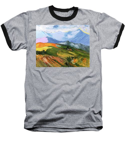 Once There Were Green Fields Baseball T-Shirt