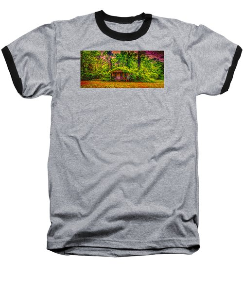 Once Upon A Time Baseball T-Shirt by Louis Ferreira