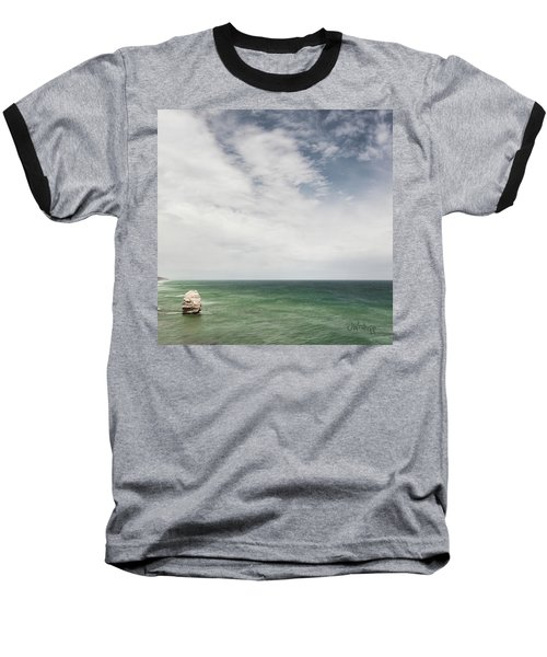 Baseball T-Shirt featuring the photograph One Apostle by Joseph Westrupp