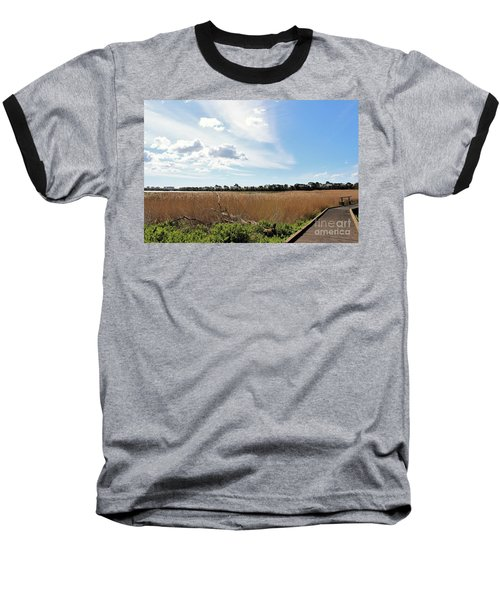 Baseball T-Shirt featuring the photograph One Beautiful Day... by Katy Mei