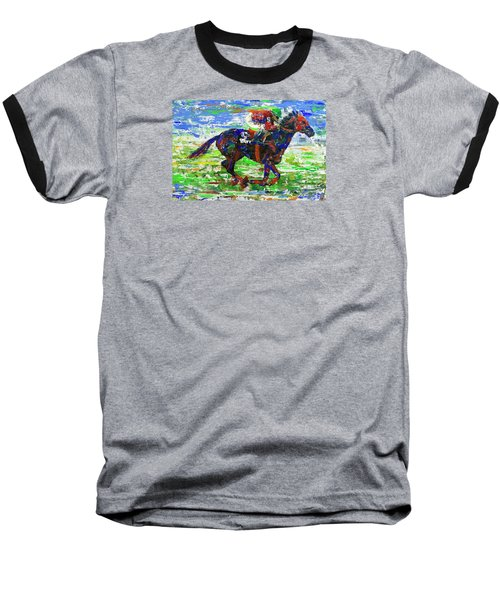 One Body Length Ahead Baseball T-Shirt