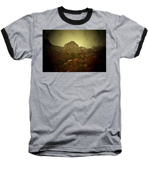Baseball T-Shirt featuring the photograph One Day by Mark Ross