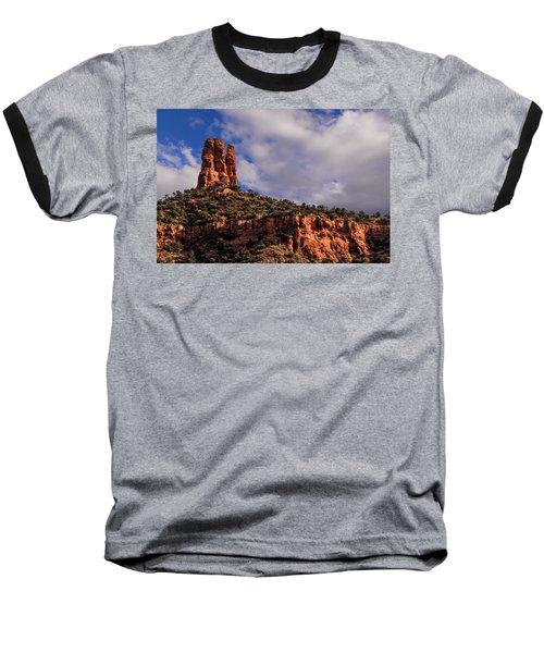 One Finger Shy Baseball T-Shirt