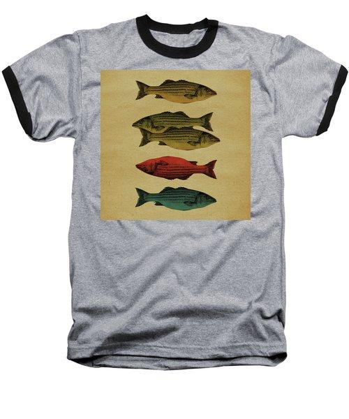 One Fish, Two Fish . . . Baseball T-Shirt