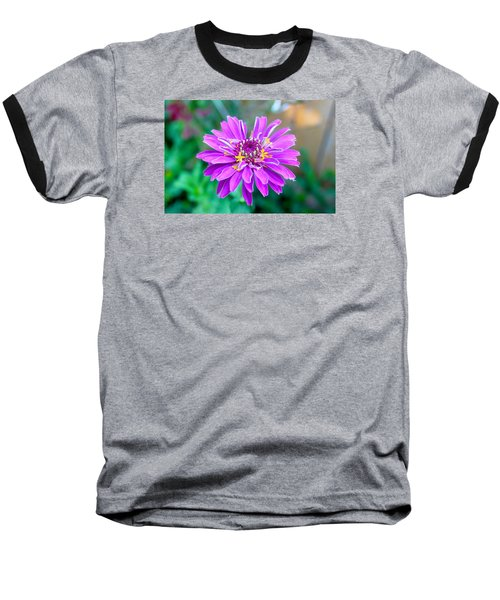 One Flower Circus Baseball T-Shirt