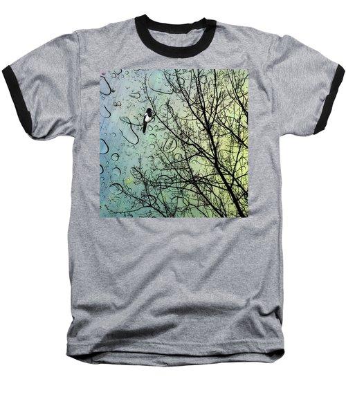 One For Sorrow #nurseryrhyme Baseball T-Shirt