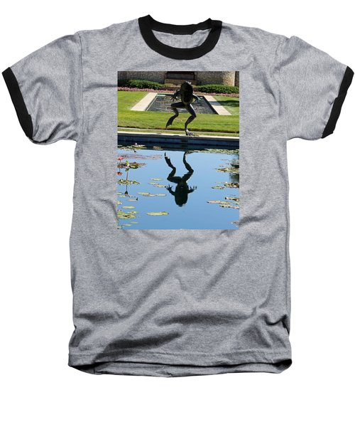 One Giant Leap Baseball T-Shirt