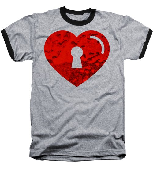 One Heart One Key Baseball T-Shirt
