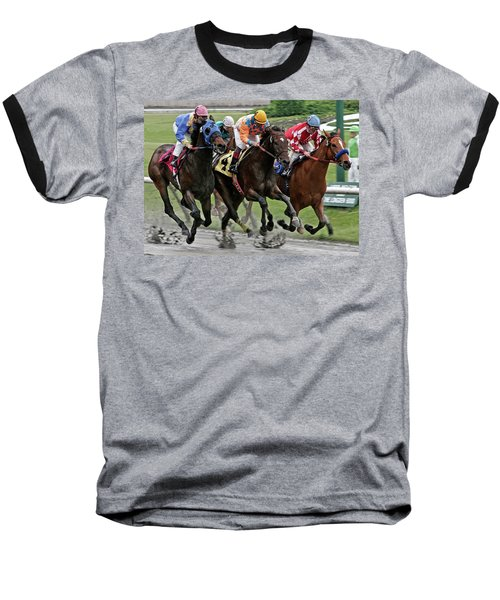 One Hoof Down Baseball T-Shirt