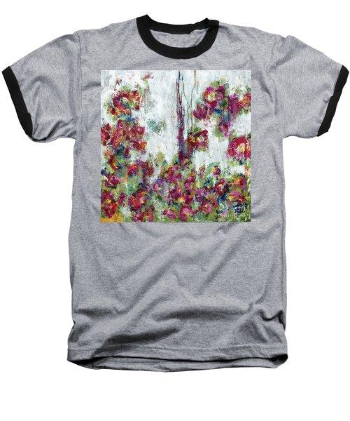 One Last Kiss Baseball T-Shirt by Kirsten Reed