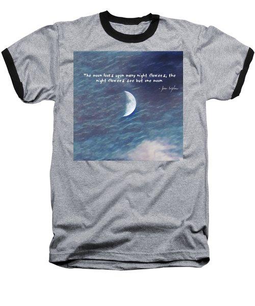 One Moon Baseball T-Shirt