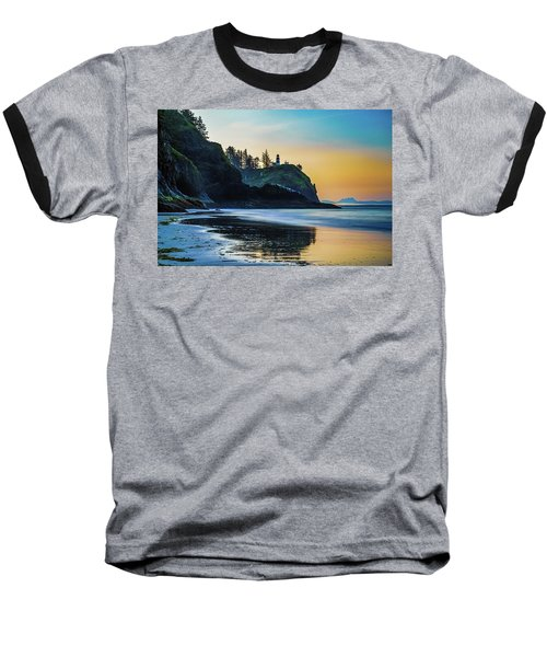 Baseball T-Shirt featuring the photograph One Morning At The Beach by Ken Stanback