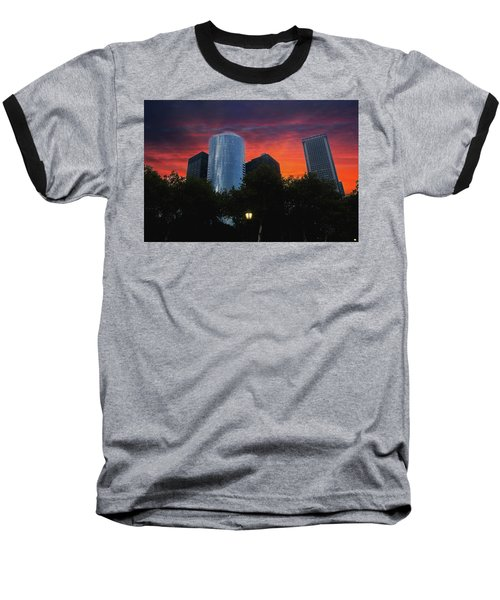 One New York Center-1 Baseball T-Shirt