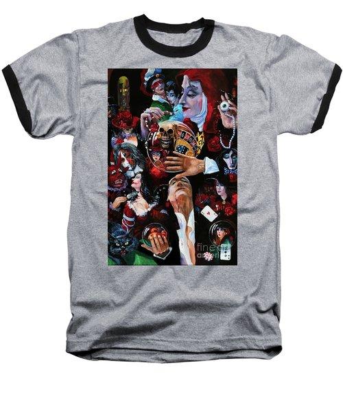 One Night In Paris Baseball T-Shirt