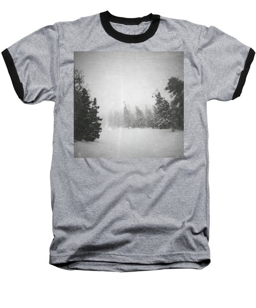 Baseball T-Shirt featuring the photograph One Night  by Mark Ross