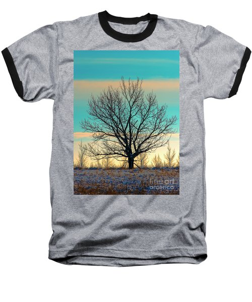 Baseball T-Shirt featuring the photograph One by Nina Stavlund
