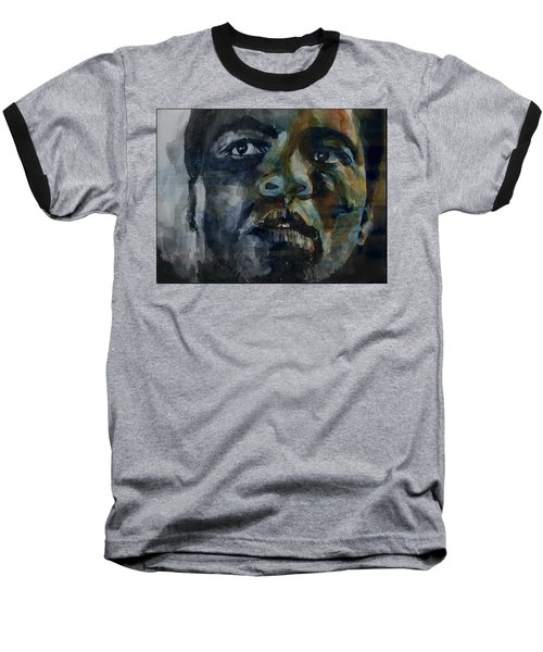 One Of A Kind  Baseball T-Shirt by Paul Lovering