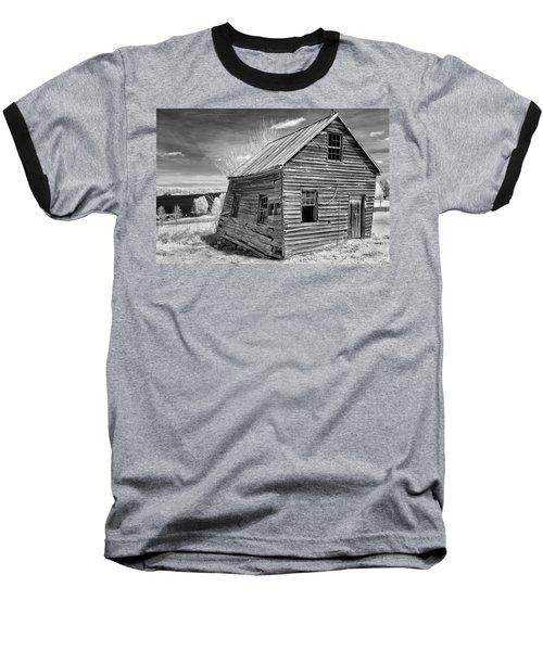 One Room Schoolhouse Baseball T-Shirt by Paul Seymour