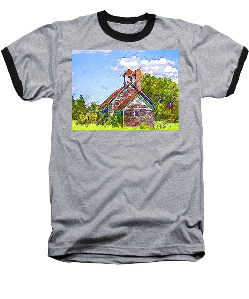 One Room Schoolhouse Baseball T-Shirt