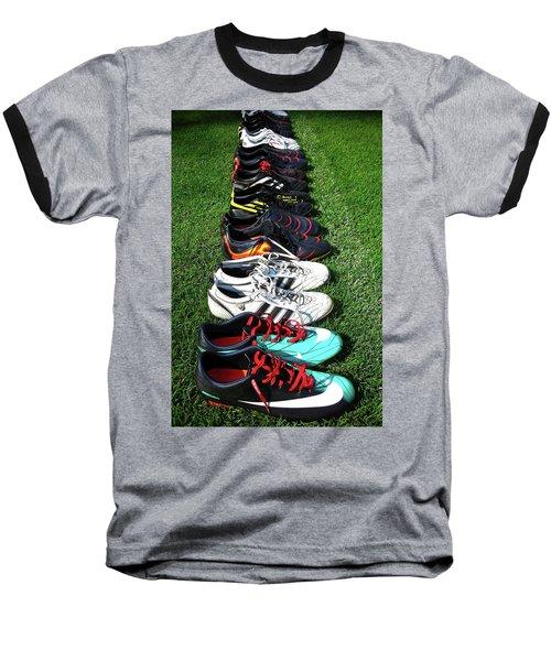 One Team ... Baseball T-Shirt by Juergen Weiss