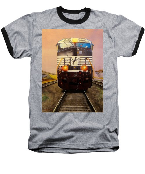 One Track Mind Baseball T-Shirt