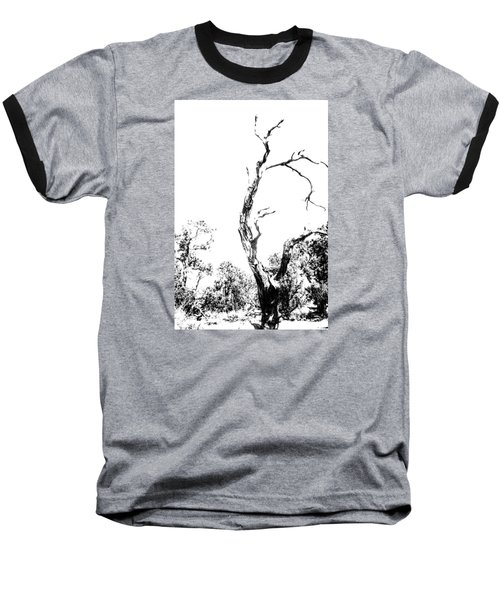Baseball T-Shirt featuring the photograph One Tree - 0192 by G L Sarti