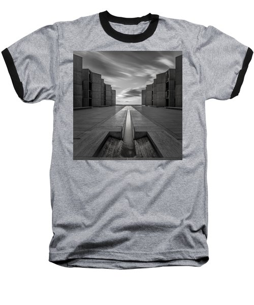 Baseball T-Shirt featuring the photograph One Way by Ryan Weddle