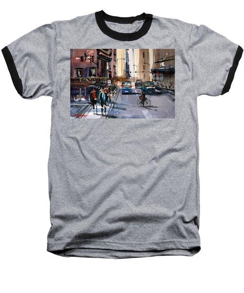 One Way Street - Chicago Baseball T-Shirt