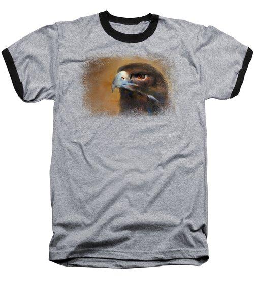 One White Feather Baseball T-Shirt by Jai Johnson