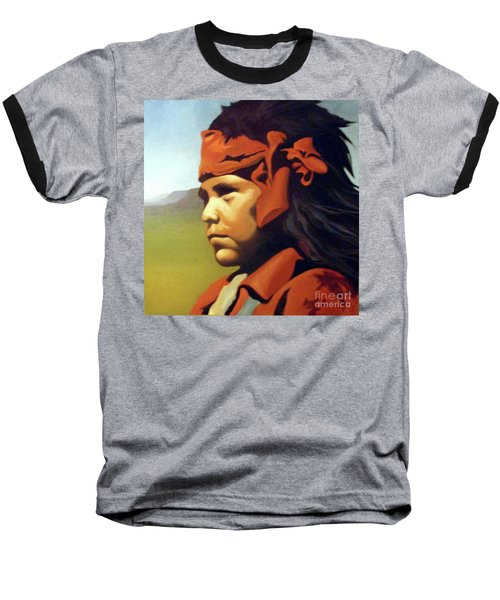 One Who Soars With The Hawk Baseball T-Shirt