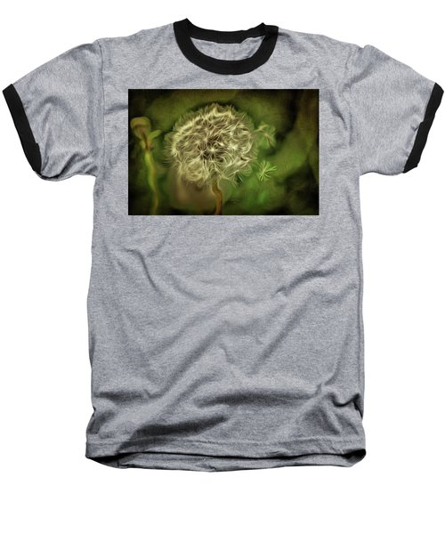 Baseball T-Shirt featuring the mixed media One Woman's Wish by Trish Tritz