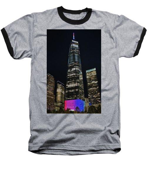 One World Trade Center Baseball T-Shirt