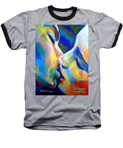 Oneness Baseball T-Shirt by Helena Wierzbicki