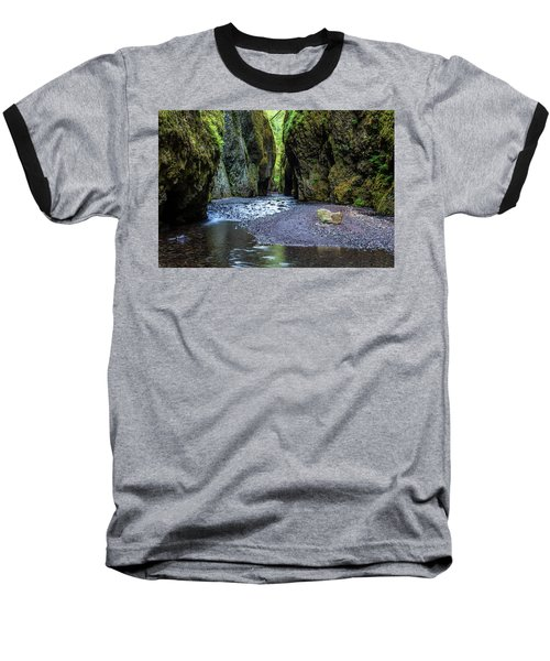 Baseball T-Shirt featuring the photograph Oneonta Gorge by Pierre Leclerc Photography
