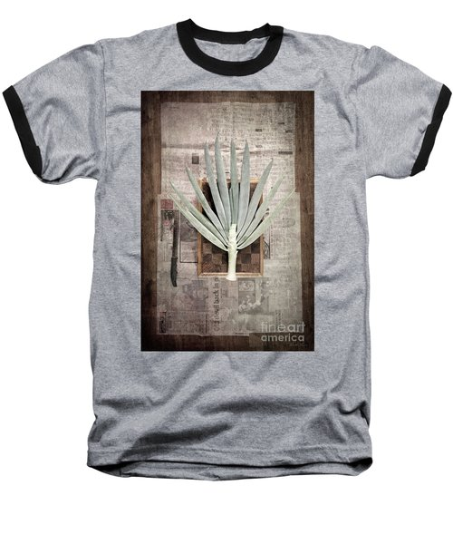 Onion Baseball T-Shirt by Linda Lees