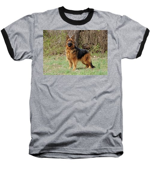 Baseball T-Shirt featuring the photograph Onja by Sandy Keeton